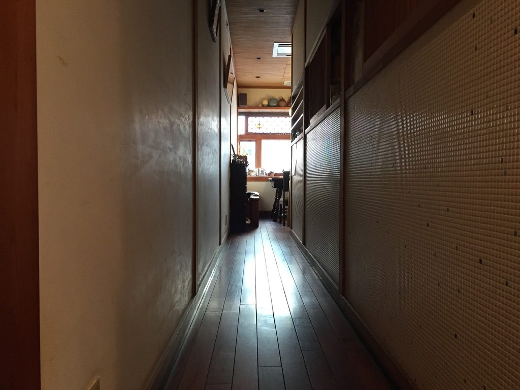 こちかぜ 廊下