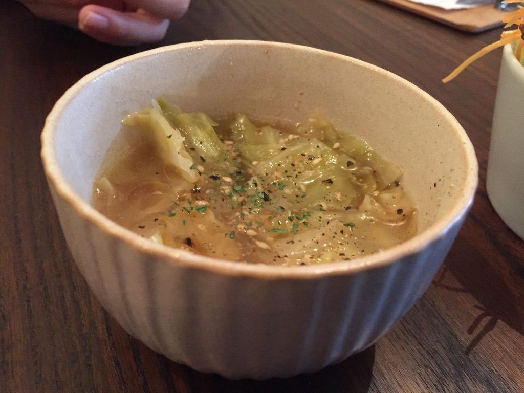 カラッポ スープ