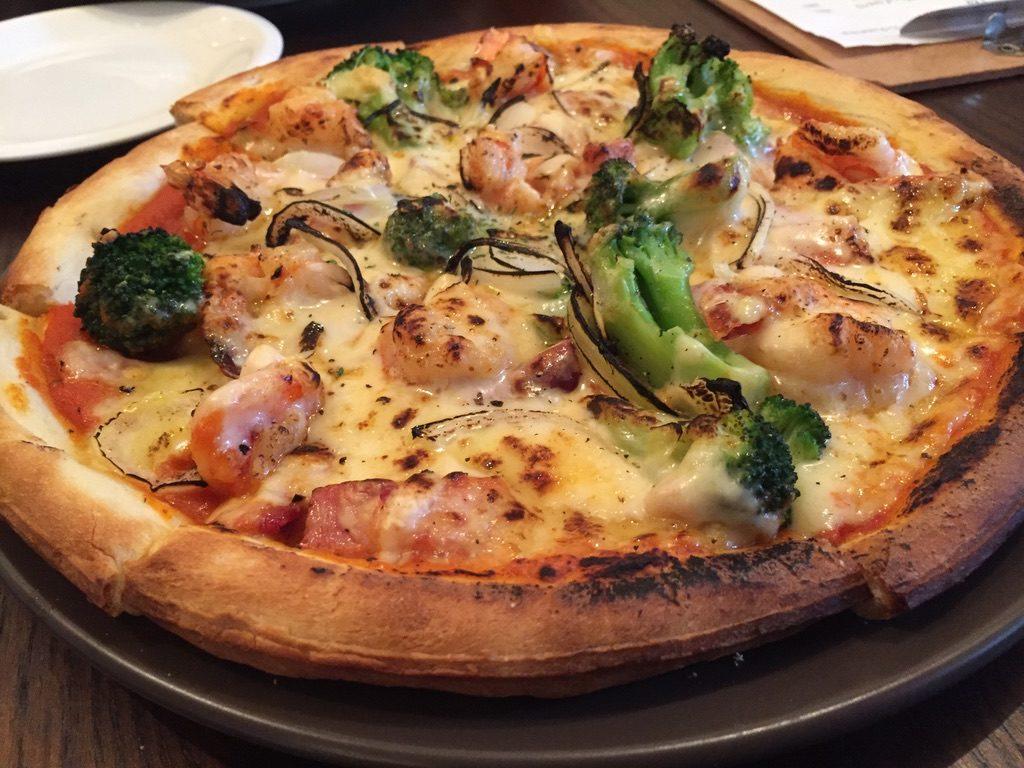 カラッポ ピザ