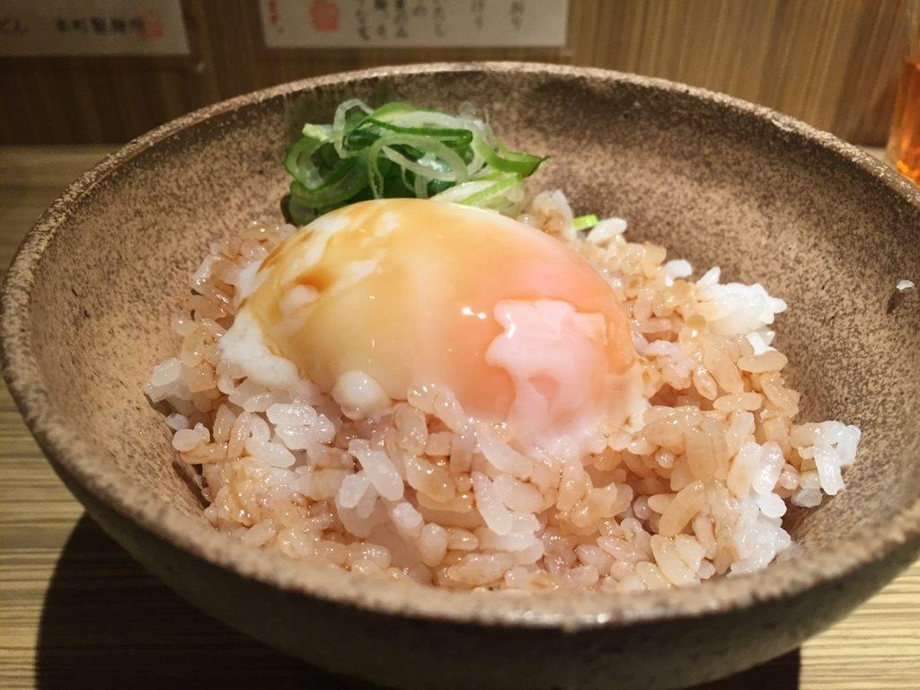 本町製麺所 本店 温泉玉子かけご飯