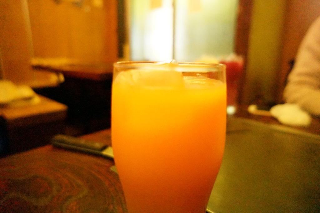 もんじゃ屋 桜の時(フルーツキャロットのお酒)