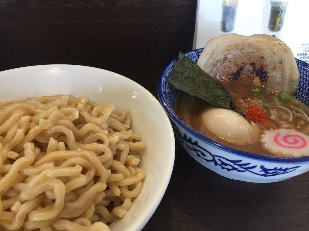 まるぶし つけ麺