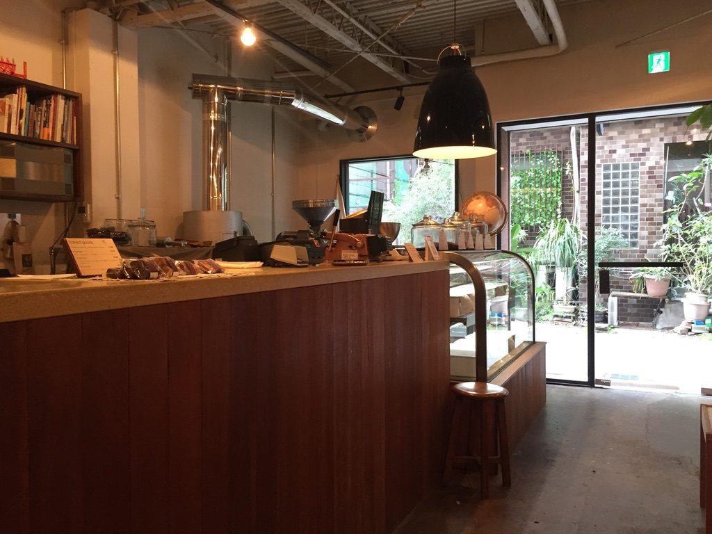 ヒロフミフジタコーヒー 店内2