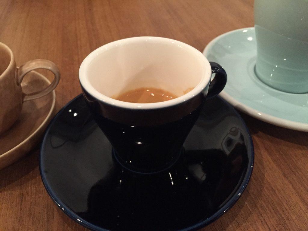 ヒロフミフジタコーヒー エスプレッソ