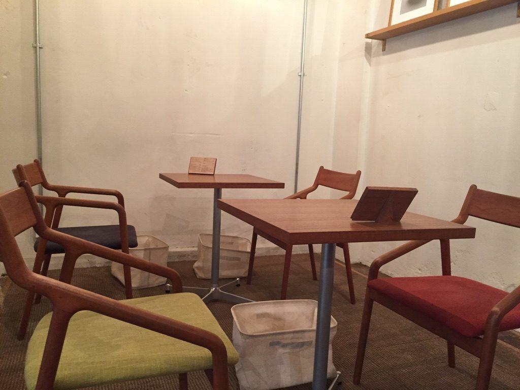 ヒロフミフジタコーヒー 店内1