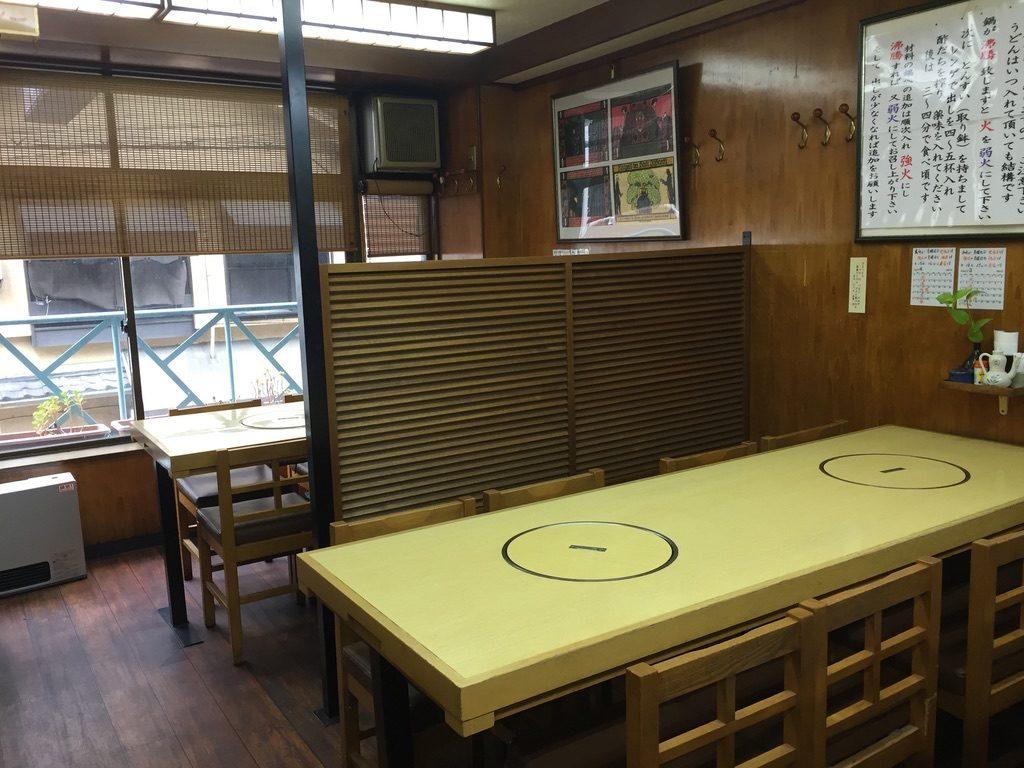 川福 テーブル席