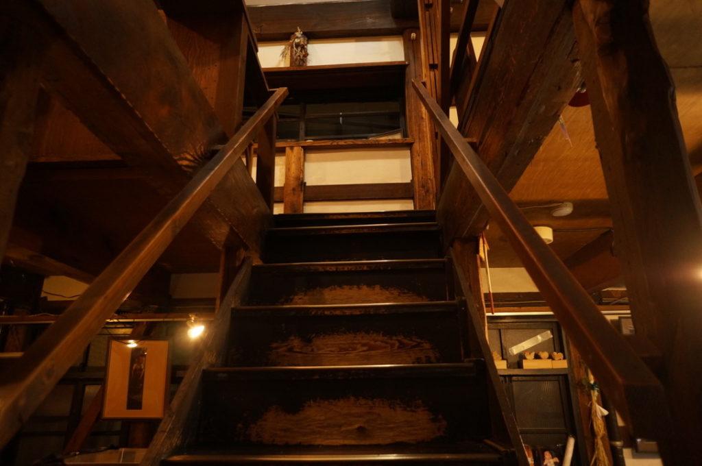エクチュア 階段