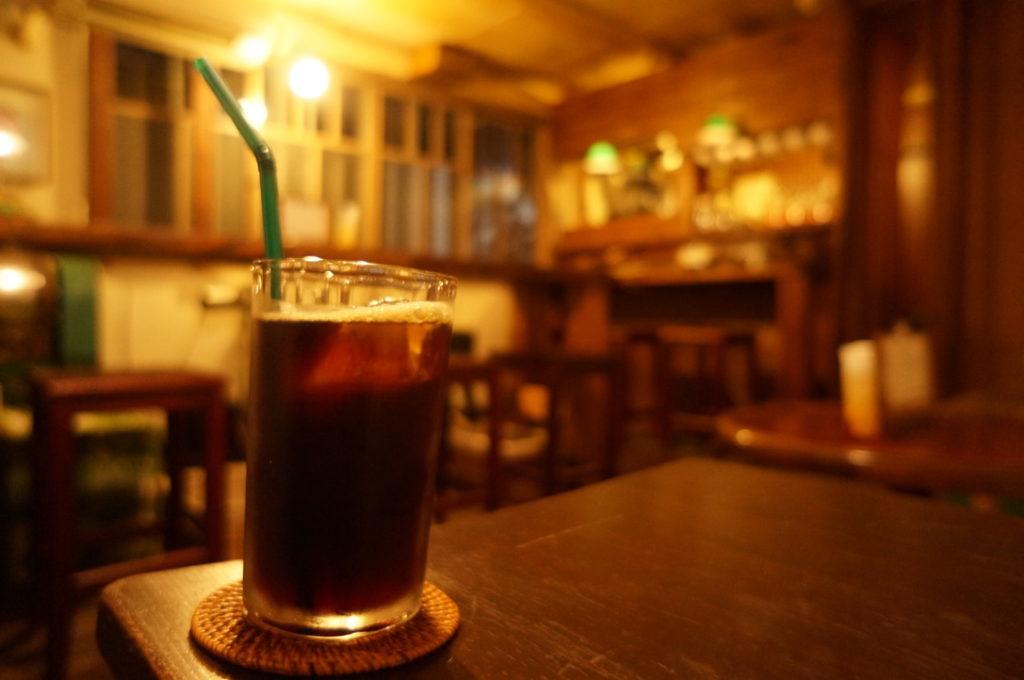喫茶路地 アイスコーヒー