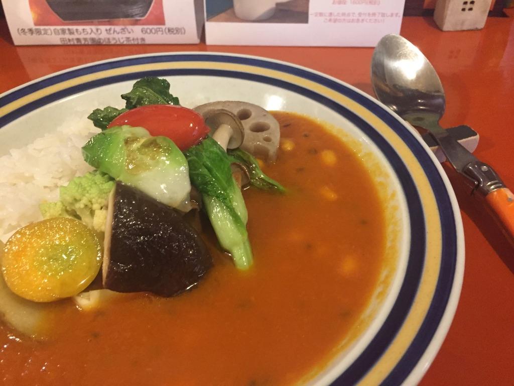 ンケリコ 季節の野菜たっぷりカレー