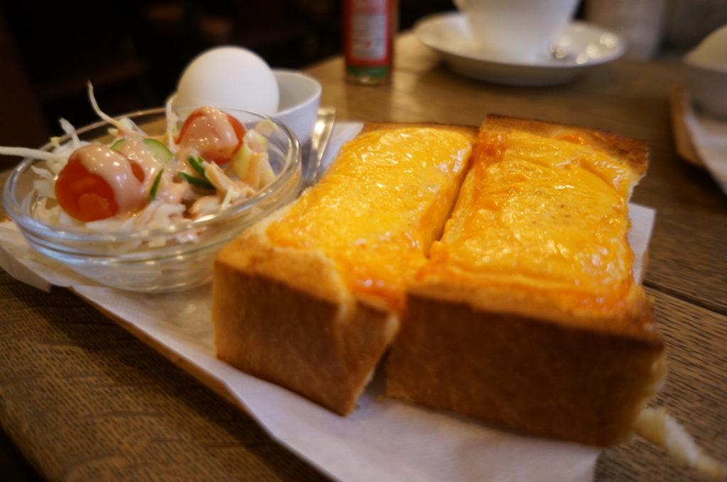 ホーマー チーズトースト