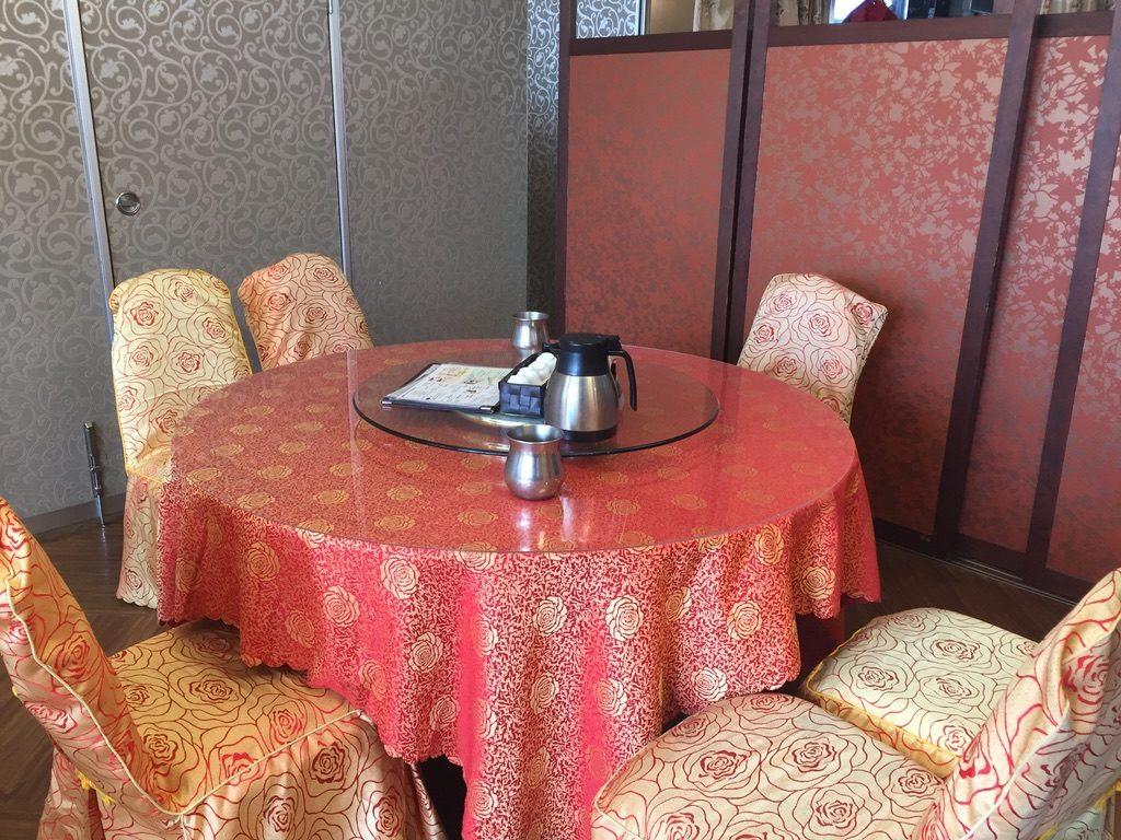 楓林閣 テーブル席