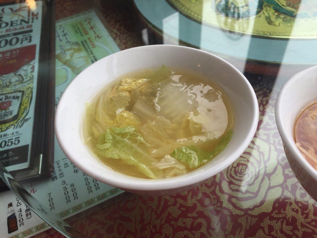 楓林閣 スープ