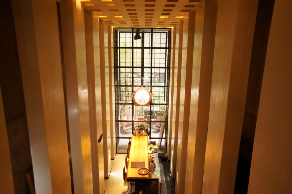 テラン・ブラン 2階からの眺め