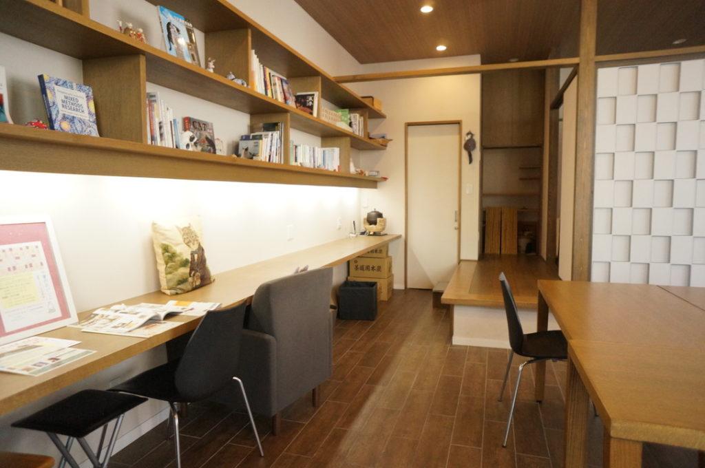 小さなお庭と猫の図書館 4階