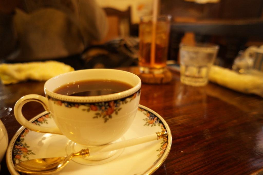 寿里庵 ホットコーヒー