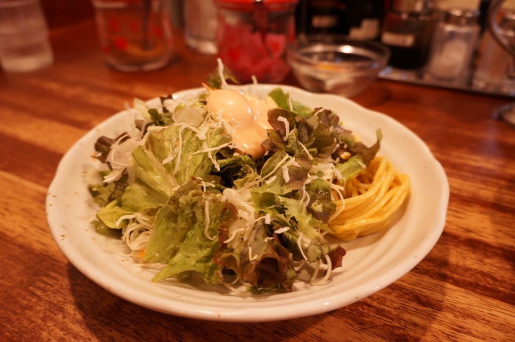 キューブ サラダ