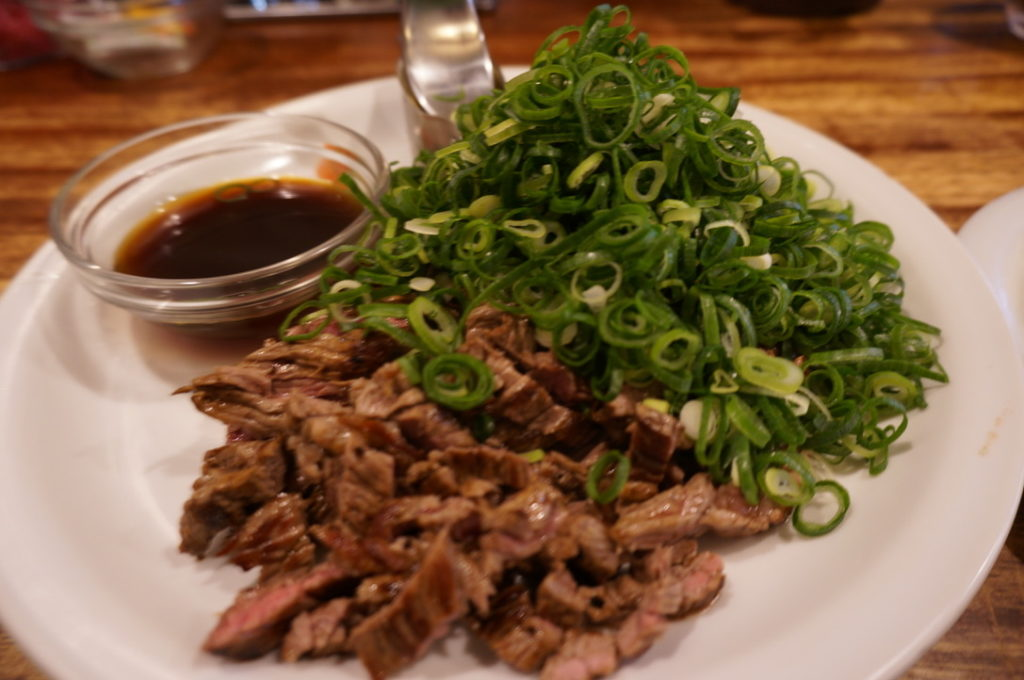 キューブ 牛肉のたたき