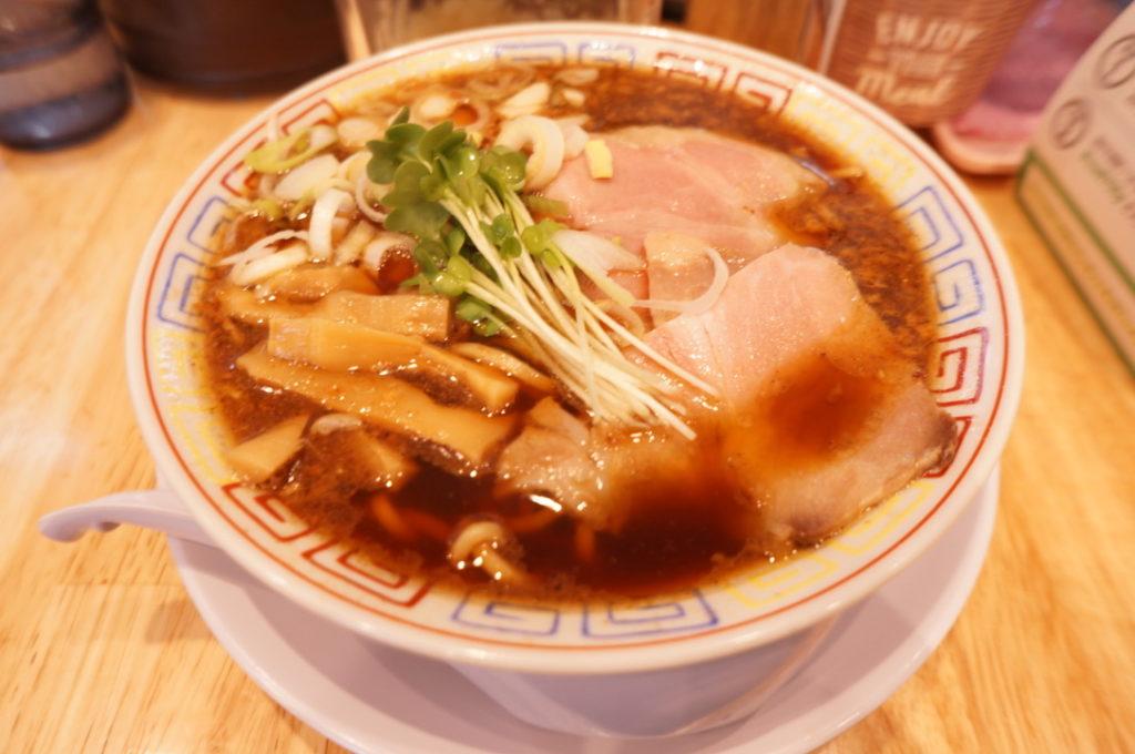 サバ六製麺所 サバ醤油そば