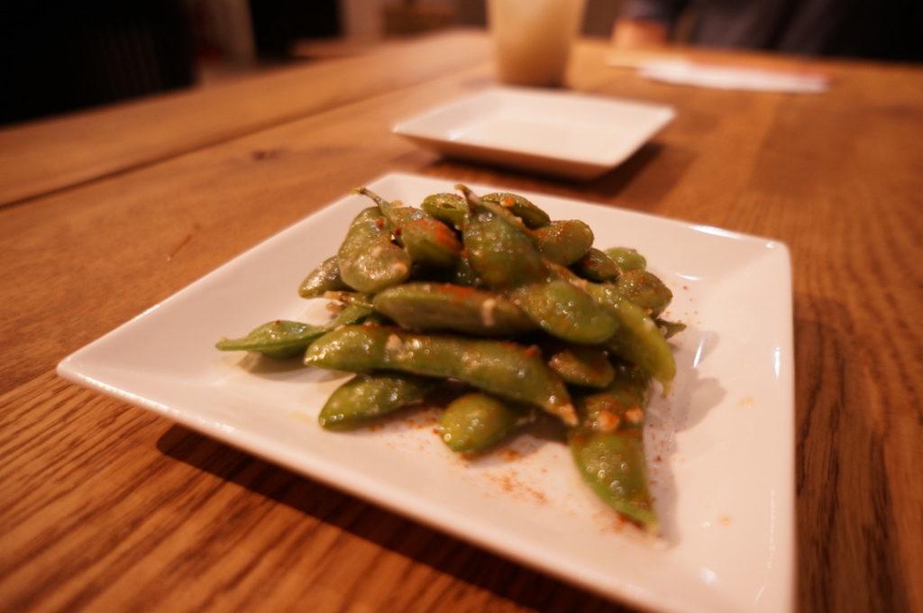 麹スタンド 枝豆ペペロン