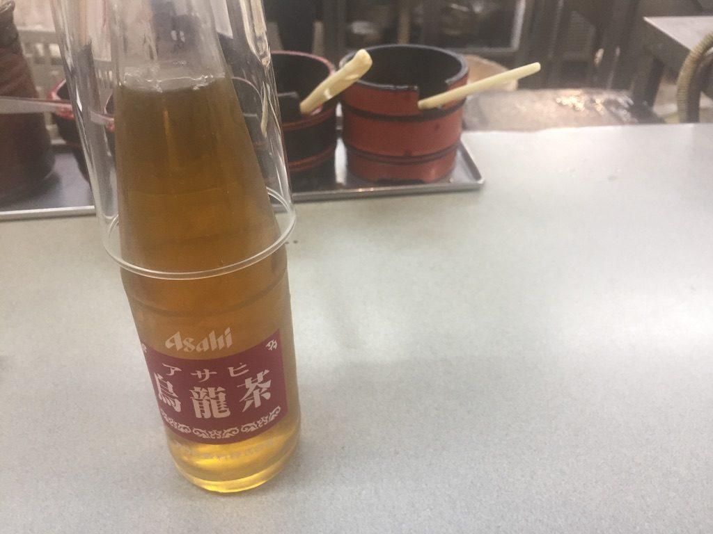 大興寿司 ウーロン茶
