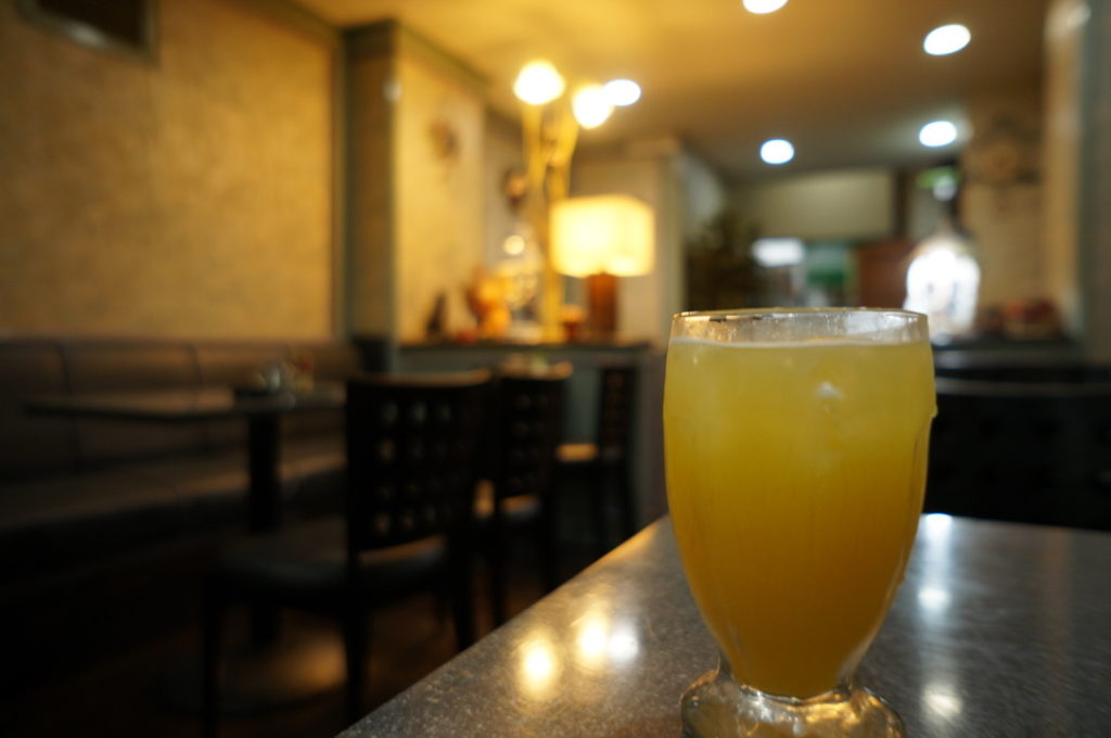 喫茶鳳 オレンジスカッシュ