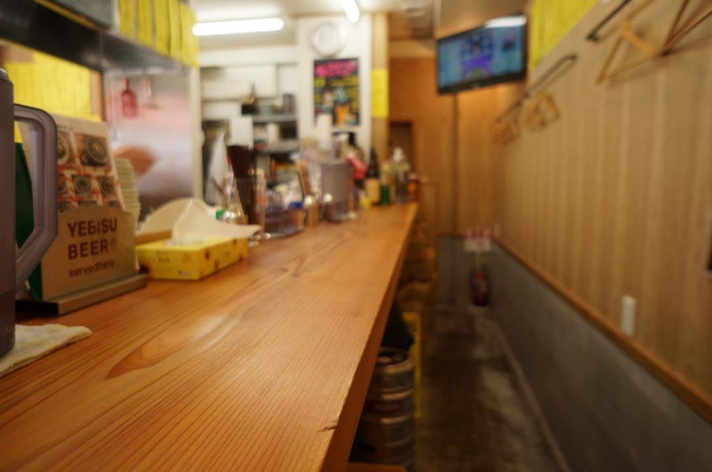 出汁のオアシスの店内