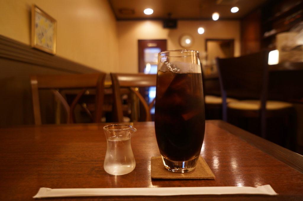 喫茶ネイキッド アイスコーヒー