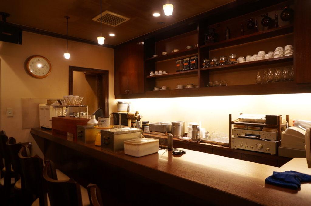 喫茶ネイキッド 店内