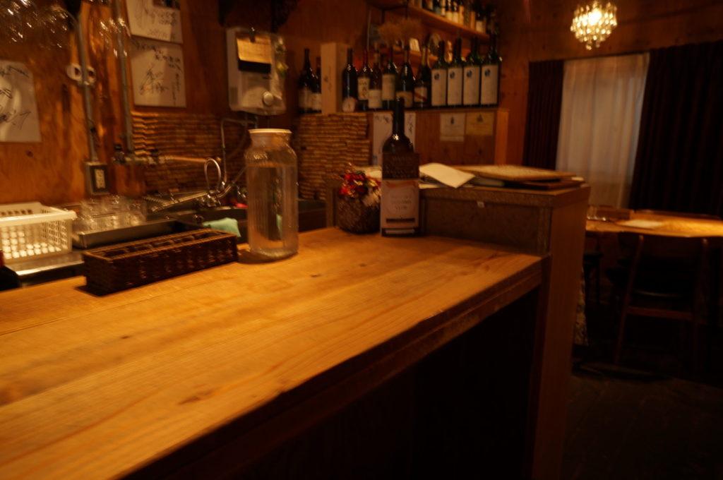 ワインちゃん 店内