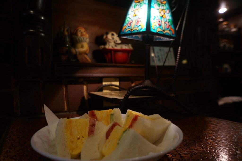 純喫茶ヒロ 玉子サンド