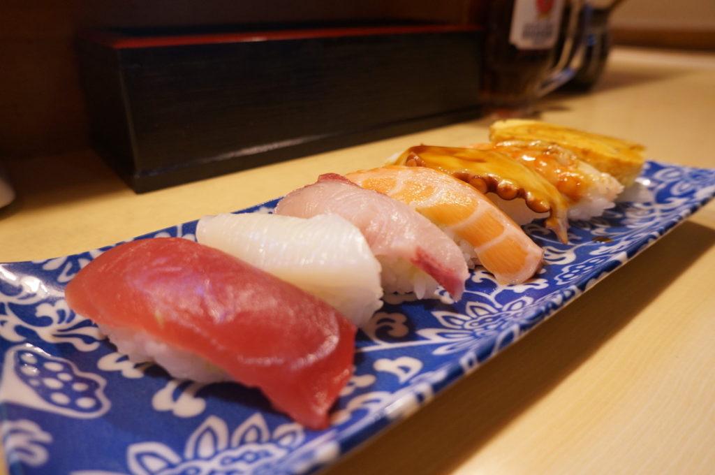新歌丸 寿司盛り合わせ