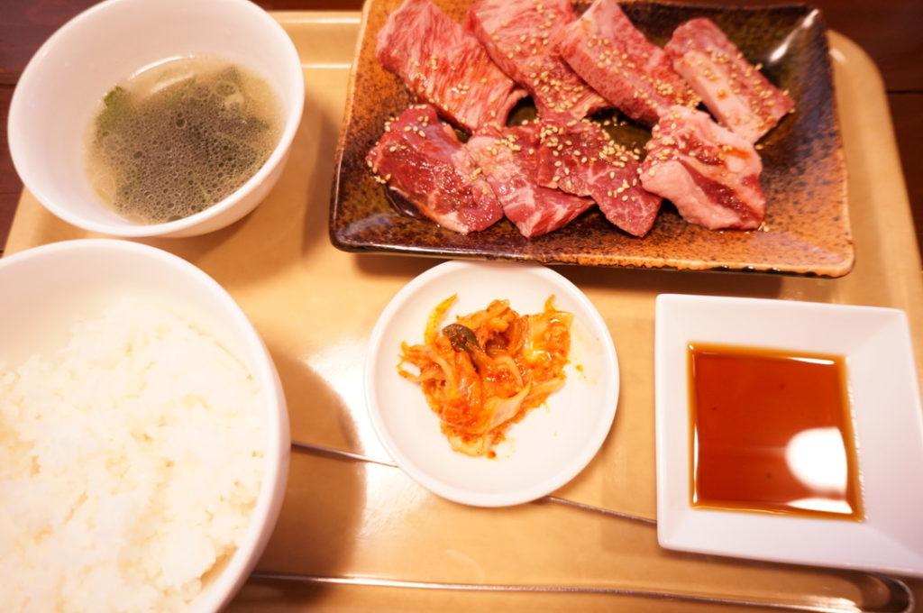 京 上肉盛ランチ