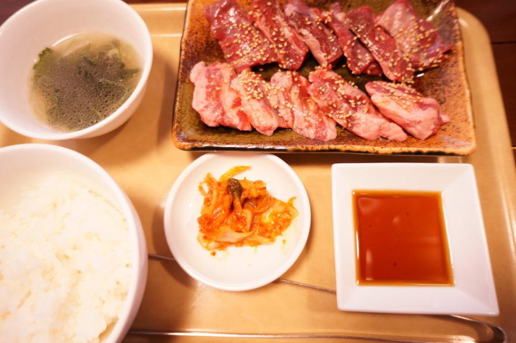京 並肉大盛ランチ