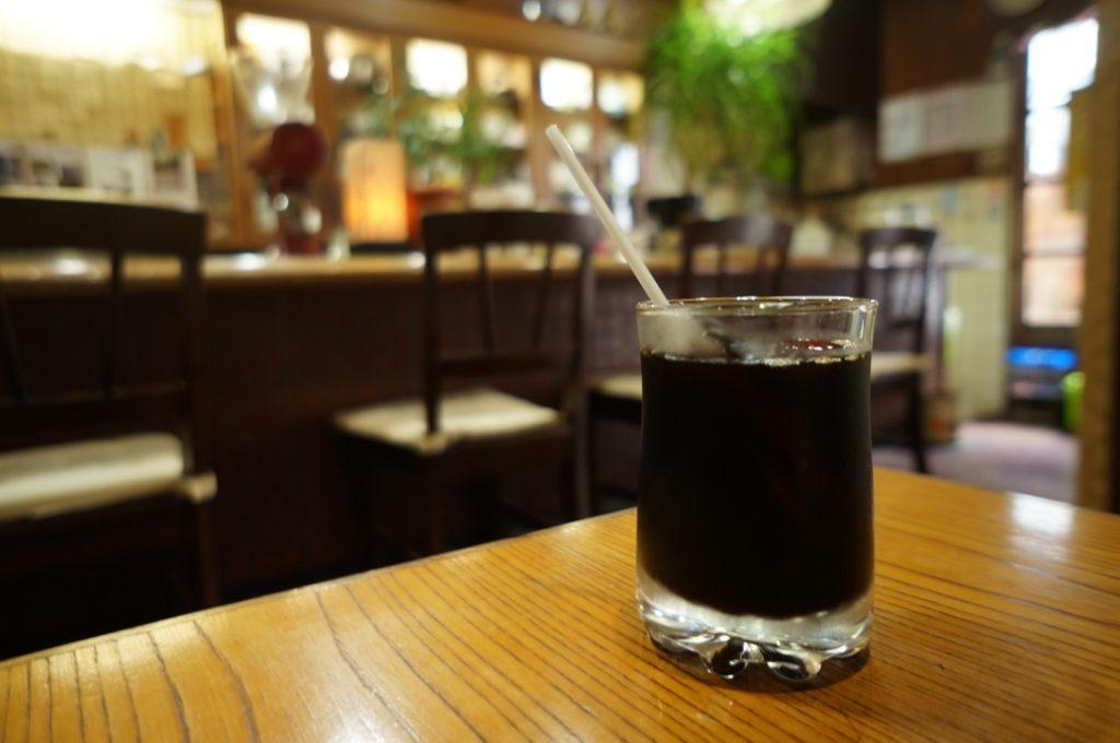 珈琲館吉田 アイスコーヒー