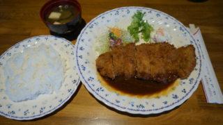 グリルシマダ ビフカツ定食