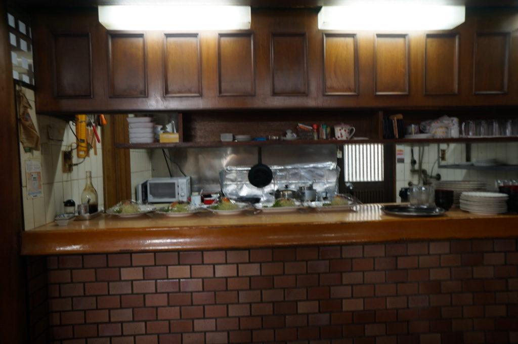 グリルシマダ 厨房