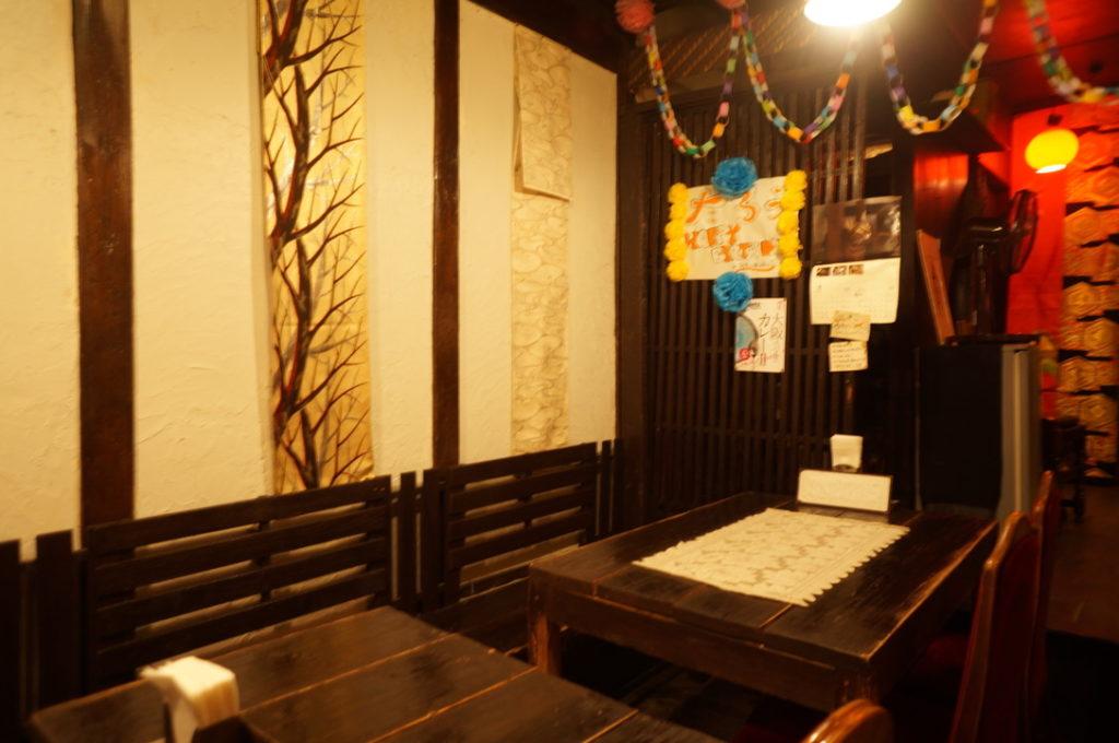 旧ヤム邸 テーブル席