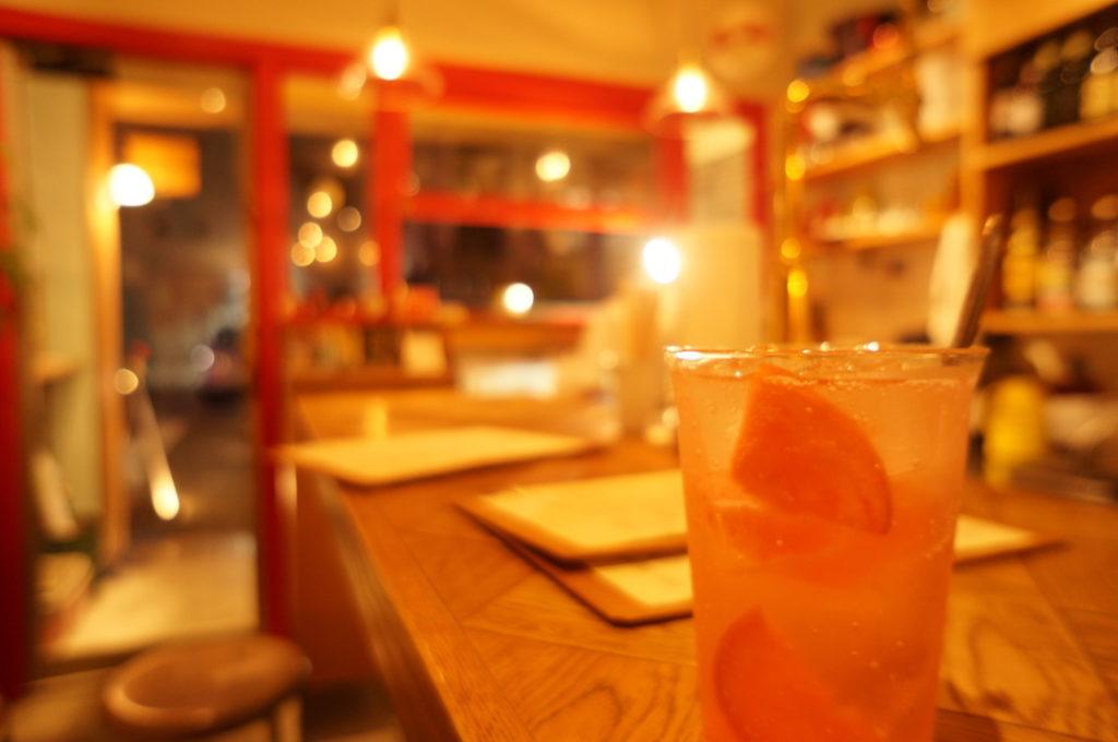 アウタンドプチ 自家製リンゴ酢サワー