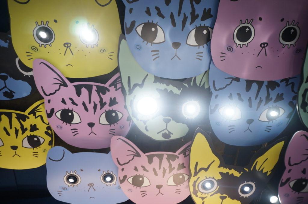 猫甜茶室 天井
