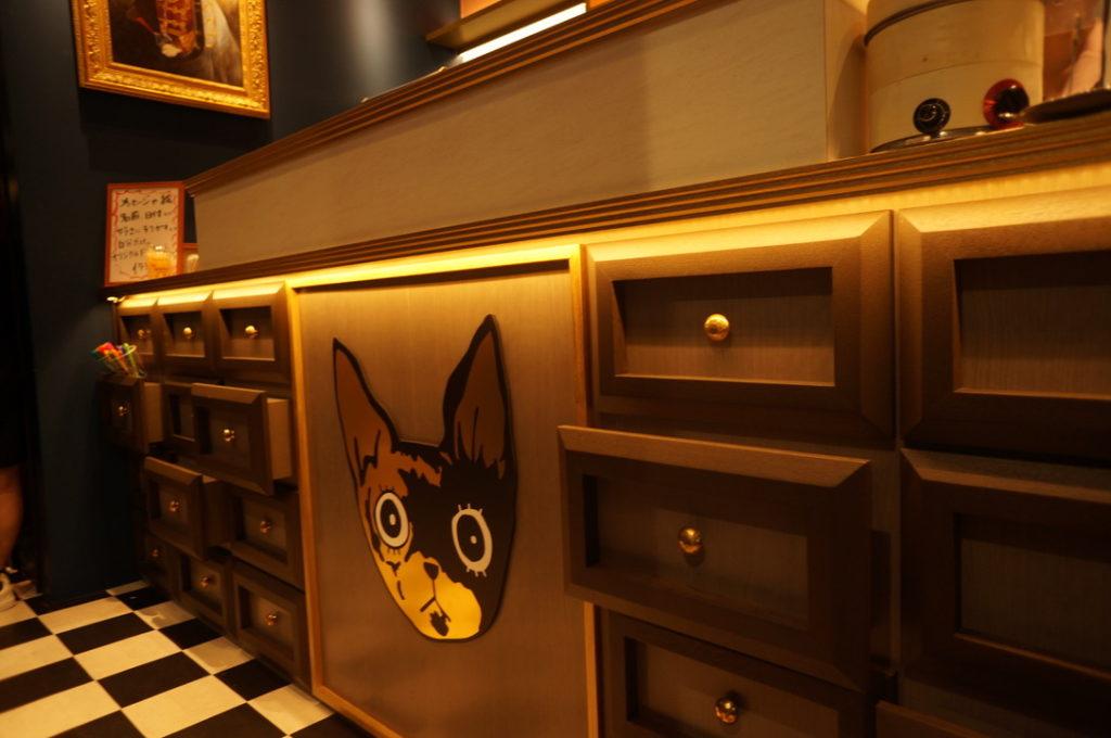 猫甜茶室 店内