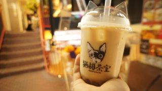 猫甜茶室 金萱ミルクティー