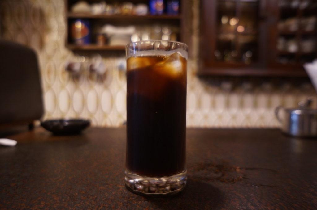 七番館 アイスコーヒー