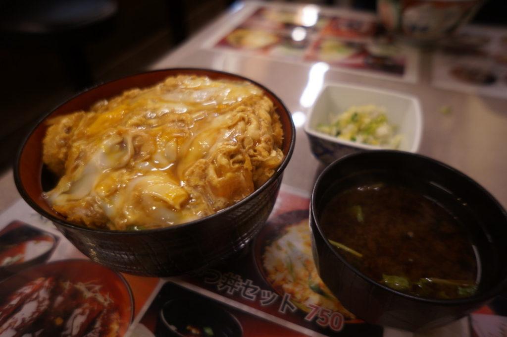 味べい カツ丼(大)セット