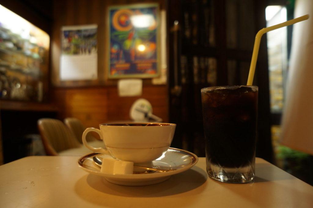 ナカノ ホットコーヒー・アイスコーヒー