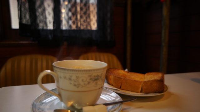 ナカノ ミルクコーヒー・トースト