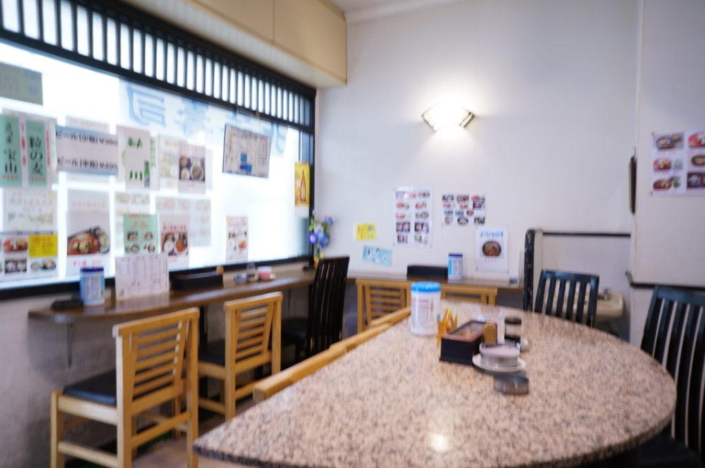 北海寿司 店内
