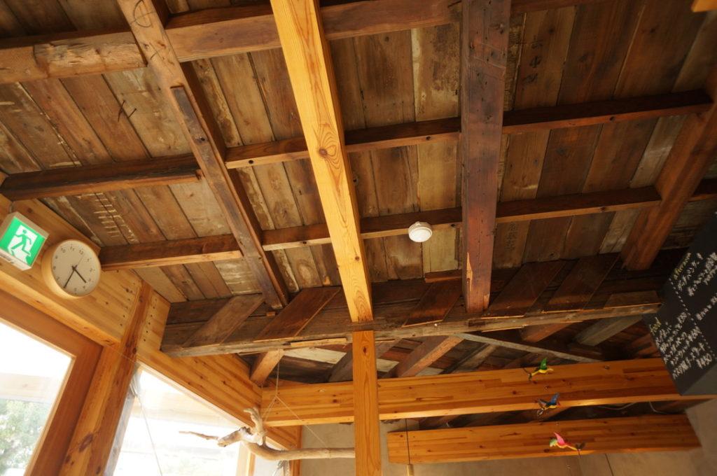 千鳥文化食堂(カフェ) 店内の天井