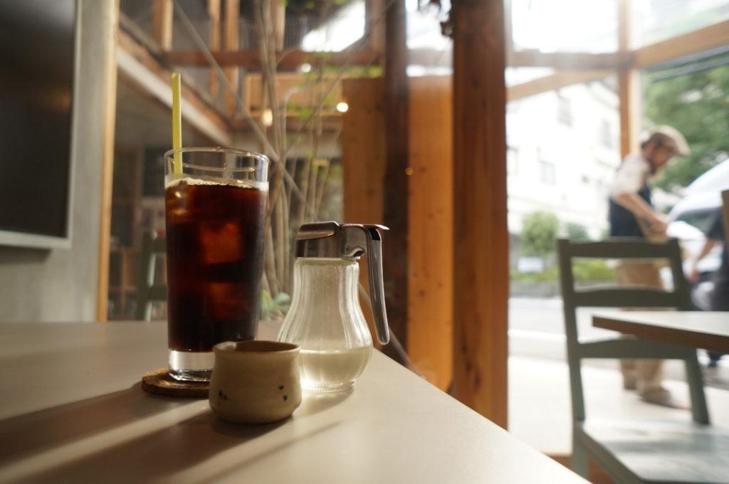 千鳥文化食堂(カフェ) ジャンゴコーヒー(アイス)