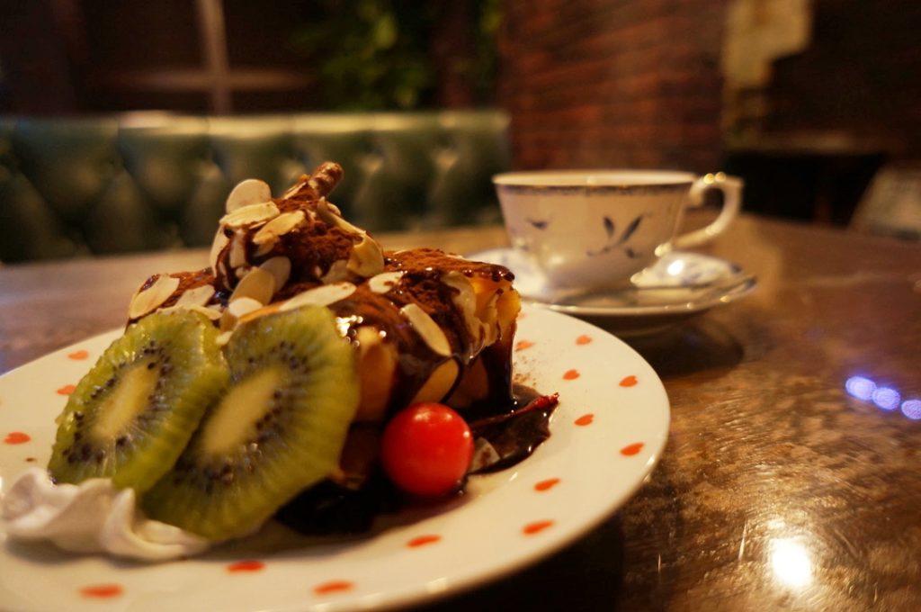 モンキーヒル チョコクレープセット(紅茶セット)