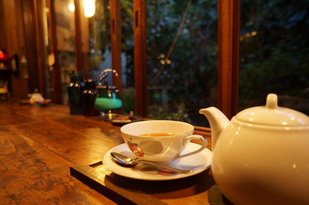 マロニエ 紅茶